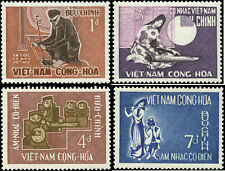 Viet Nam Scott #287 - #290 Complete Set of 4 Mint Hinged