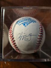 Chipper Jones Atlanta Braves Signed Autograph 1995 World Series Ball w COA