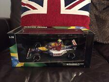 Minichamps Nigel Mansell Ayrton Senna Taxi Williams R FW14 1:18 British GP 1991