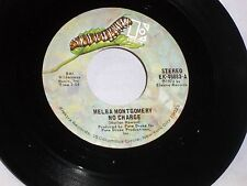 Melba Montgomery:  No Charge / I Love Him Because He's That Way  [Unplayed Copy]