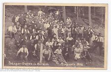 AK Durach --Sänger Treffen zu Pfingsten-- um 1935