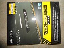 Corsair VENGEANCE White LED 16GB (2x8GB) DDR4 19200 2400MHz (CMU16GX4M2A2400C16)