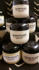 Brown Sugared Babies Shea Souffle. All natural FRANK and MYRRH scented. 8oz