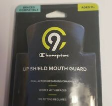 New Boys Champion Brand Lip Shield Mouth Guard Multi Sport Braces Ages 11+