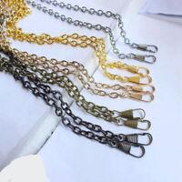 120cm/60cm Handbag Shoulder Bag Replacement Strap Metal Purse Chain Strap Handle