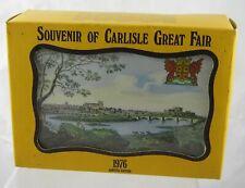 Boxed - Vintage Souvenir tin Hudson Scott & Sons - Carlisle Great Fair 1976