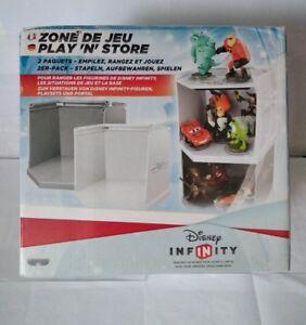 Disney Infinity - Play n'store - Zone de jeu - Boite de rangement figurine -Neuf