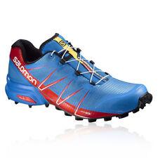 Chaussures de fitness, athlétisme et yoga bleus Salomon pour homme