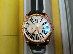 ROGER DUBUIS EXCALIBUR 42 MM HORLOGER GENEVOIS R GOLD IN HOUSE SWISS MANUFACTURE