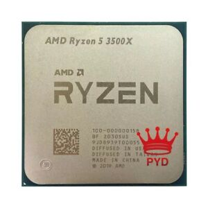 AMD Ryzen 5 3500X R5 3500X 3.6 GHz Six-Core Six-Thread CPU Processor No FAN