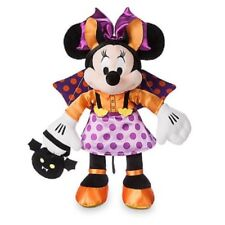 "NWT Disney store Minnie Mouse As Bat Halloween Plush 15"" Doll Toy"