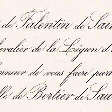 Isidore Henri Falentin De Saintenac 1874 Pamiers Ariège