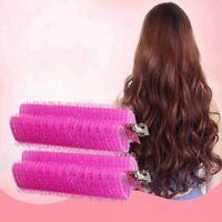 2PCS Self-adhesive Bangs Roll Hair Plastic Curlers Hair Curlers