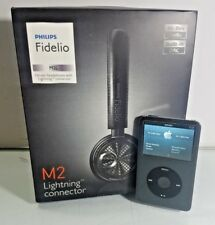 BLACK IPOD CLASSIC 7TH GENERATION 160GB with New Fidelio M2 HEADSET