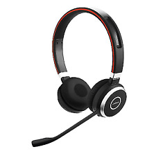 New Jabra Evolve 65 Stereo Wireless Bluetooth Headphones - Black