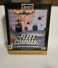 """Vintage PC, CD-ROM Game """"JANE'S FLEET COMMAND"""" - Real Time Naval Strategy, Rare"""