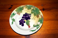 French Antique Faience Fruit Bowl A. Lebacqz & M. Bouchart - St Amand les Eaux