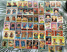 1986 Lot Of Topps Garbage Pail Kid Cards/stickers Original Series 5