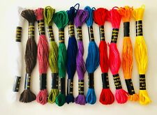 12 Skeins Multi Colors Special Embroidery Hand Embroidery Floss, Thread