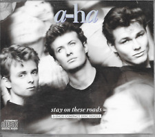 """A-HA - Stay on these roads 3"""" Inch CD SINGLE 4TR Europe 1988 (WEA)"""