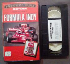 VHS Automobilismo BOBBY RAHAI Come Si Corre In FORMULA INDY ex nolo no dvd(VH63