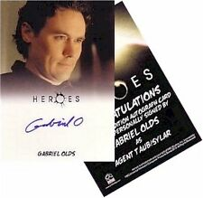 "Heroes Archives: Gabriel Olds as ""Agent Taub/Sylar"" Autograph Card"