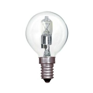 Status 42w=55w Halogen Round Clear SES E14 Pack of 6