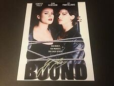 Jennifer Tilly Sexy Bound 8x10 PHOTO Signed Auto COA