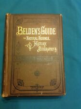 BELDEN'S GUIDE TO NATURAL SCIENCE, HISTORY, BIOGRAPHY & GENERAL LITERATURE VG