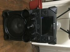 The Singing Machine Sdl2093 Studio All in One Entertainment System - Black