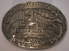 NWOT JONATHAN PADELFORD WILLIAM BOWELL SOLID BRASS BELT BUCKLE STILL IN WRAPPER