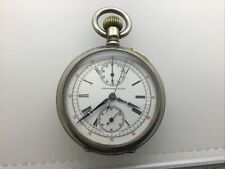 Pocket Watch With Chronograph Feature National Park Nice Vintage Quality