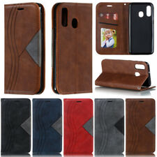 Book Wallet Leather Flip Case Cover For Samsung A10 A20 A30 A50 A51 S10 S20 A20E