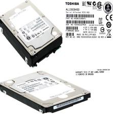 8 x Lot HDD Toshiba AL13SEB450 450GB SAS 6G 10.500RPM 2.5'' SERVIDOR HP IBM DELL