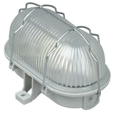 Kopp Ovalarmatur Aramtur Lampe mit Drahtkorb 60W grau Lampe Licht Neuware