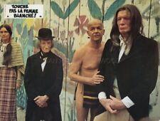 SERGE REGGIANI TOUCHE PAS A LA FEMME BLANCHE  1973 VINTAGE LOBBY CARD #4