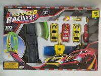 Ankyo Max Speed 20 Piece Racing Pretend Play Race Set NEW Ages 4+