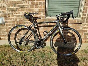 Scott CR1 FL20,super-light, race-ready,54cm/Medium Size, Carbon 17lbs