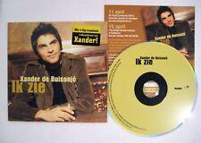 XANDER DE BUISONJE Ik zie 2-track CD Single Card sleeve + extra inlay