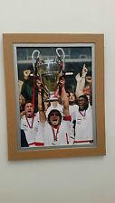 PAOLO MALDINI firmato enormi 16x12 Genuine Autograph-AC Milano-Italia-COA -