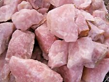 More details for rose quartz mineral natural a grade raw specimens gemstone healing chakra