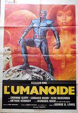 manifesto movie poster 2F L'umanoide aldo lado kiel richard corinne clery SCI-FI