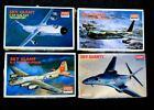 4 x ACADEMY MINICRAFT SKY GIANTS B-1, B-17, B-52 & C-5A EX-FUJI KITS 1990 VGC