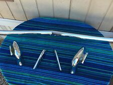 1966 66 IMPALA Caprice Front Bumper excellent rechromed W/ Bumperettes No Core