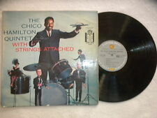 """LP THE CHICO HAMILTON QUINTET """"With strings attached"""" WARNER LPW 1503 FRANCE µ"""