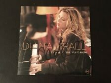 Diana Krall In Person Signed The Girl In The Other Room Cd Cover+Cd+Advert+Proof