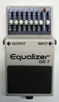 BOSS GE-7 Equalizer Guitar Effects Pedal made in Japan 1986 #220 Free Shipping