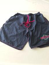UMBRO VINTAGE 90'S BLUE PINK NYLON SOCCER RUNNING Shorts Mens LARGE USA