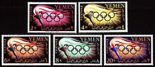 Yemen 1960 ** Mi.200/04 A Olympische Spiele Olympic Games Fackel