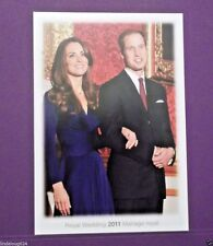 Royal Wedding 2011 - Prince William and Kate Middleton Post Card Canada Post NEW
